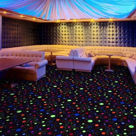 glow  event store black light carpet tile glow