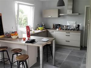 Couleur De Cuisine : le taupe une couleur tendance dans la cuisine blog ~ Voncanada.com Idées de Décoration