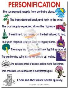 Gallery For > Personification Examples For Kids