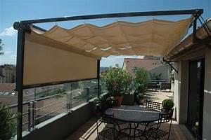 Protection Soleil Terrasse : brise vue r tractable brise vent brise soleil vivez mieux en terrasse ~ Nature-et-papiers.com Idées de Décoration