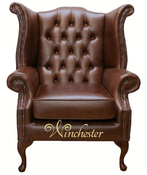 chesterfield high back wing chair uk