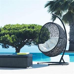 Fauteuil Suspendu Jardin : fauteuil suspendu cocon maisons du monde jardin ~ Dode.kayakingforconservation.com Idées de Décoration
