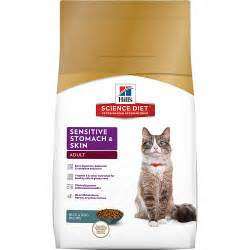 cat food for sensitive stomachs hill s 174 science diet 174 sensitive stomach skin