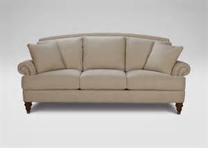 hyde sofa beckett linen ethan allen