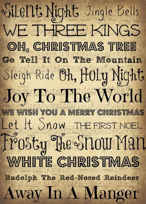 christmas song quotes  pinterest  christmas