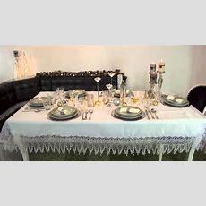 Tischdekoration Für Weihnachten Zeitlos, Elegant Und