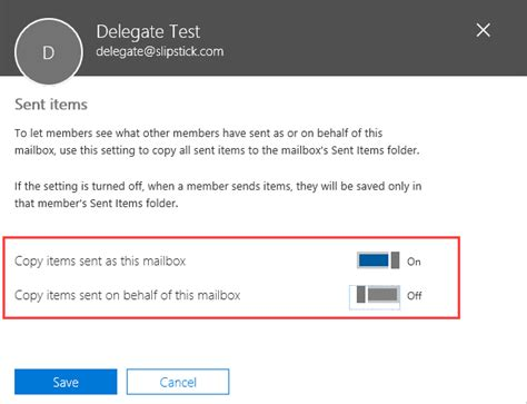 Office 365 Mail Forwarding Without Mailbox by Save Sent Items In Shared Mailbox Sent Items Folder