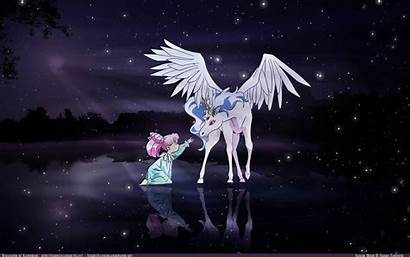 Unicorn Chibiusa Moon Sailor Anime Rini Wallpapers