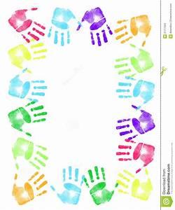 Handprint clipart border - Clipart Collection   Handprint ...