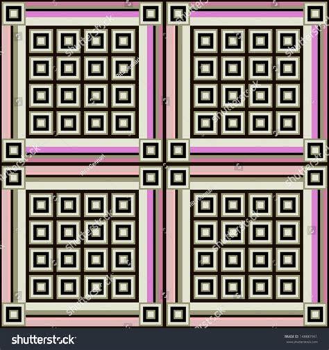 stripes checks fashion geometric pattern seamless stock
