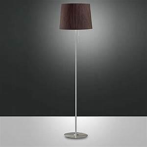 Lampe De Sol : fa2960t lampe de sol en m tal et tissu sediarreda ~ Dode.kayakingforconservation.com Idées de Décoration