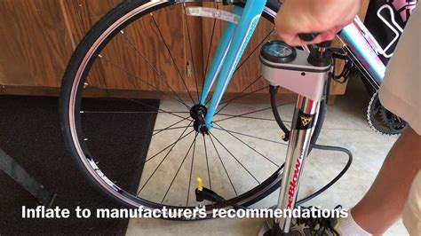 How To Inflate Road Bike Tires With Presta Valve