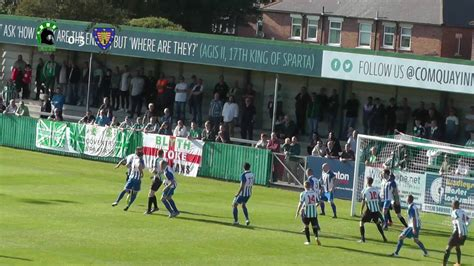 Highlights: Blyth Spartans 2-4 Morpeth Town - YouTube