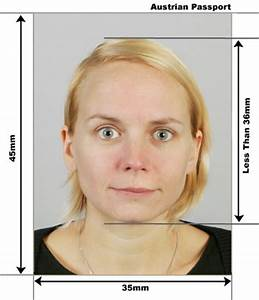 austrian passport and visa photos With requirements for passport size photo