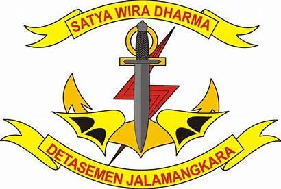 Denjaka Gambar Wikipedia Indonesia Tni Lambang Pasukan