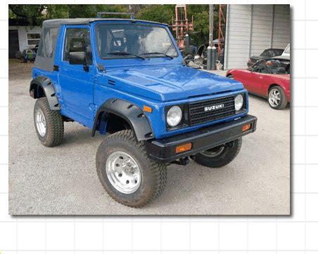 Suzuki Samurai Conversion by Repower Your Suzuki Samurai With A V6 Or V8 Engin E