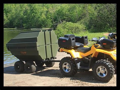 Tetra Pod Boat Price by 25 Best Ideas About Atv Trailers On