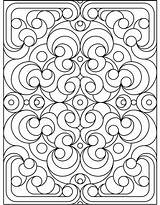 Coloring Pattern sketch template