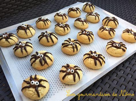 cookies araign 233 es ou spider cookies pour les gourmandises de n 233 mo