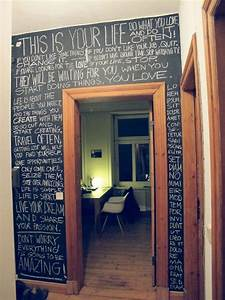 25+ Best Ideas about Blackboard Wall on Pinterest ...
