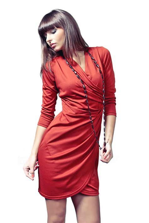 Rebeka dress in red-Vera Fashion