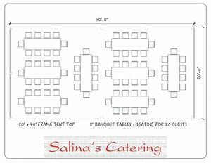 Curious On How To Best Arrange Your Tables For Your 20x40