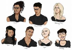 Divergent characters by Cheshire-Cats-Master on deviantART ...