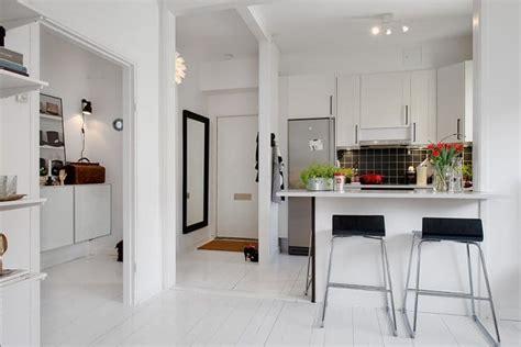 cuisine ouverte salon petit espace cuisine ouverte sur le salon 9 idées d