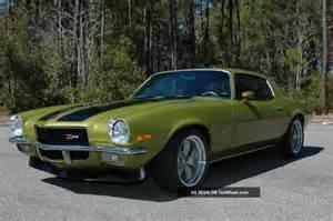 Pro Touring 1971 Camaro Z28