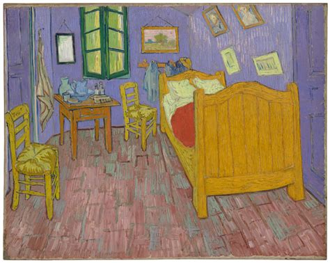 gogh bedroom painting revealing gogh s true colors science friday