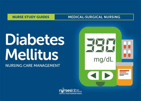 In Diabetes Mellitus Diabetes Mellitus Nursing Care Management
