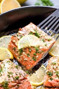 Healthy Lemon Garlic Salmon  Healthy