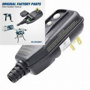 Elegrp G1215pm Manual Reset Gfci Replacement Plug Assembly