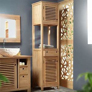miroir salle de bain bois photographs galerie d With mur couleur taupe clair 7 la colonne de salle de bain nos propositions en 58 photos