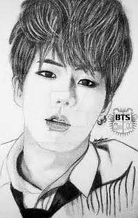 BTS Jin Drawing