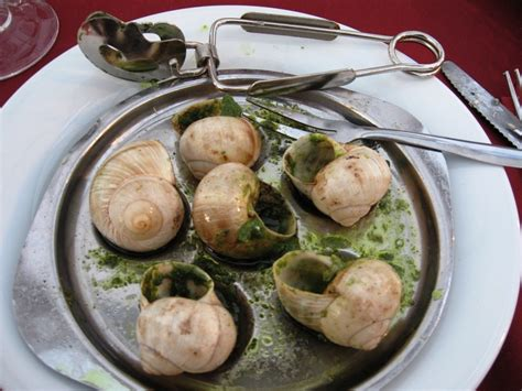escargot cuisiné escargot