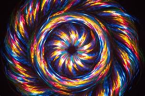 Wallpaper, Colorful, Painting, Abstract, Spiral, Symmetry, Yellow, Blue, Circle, Gold, Vortex