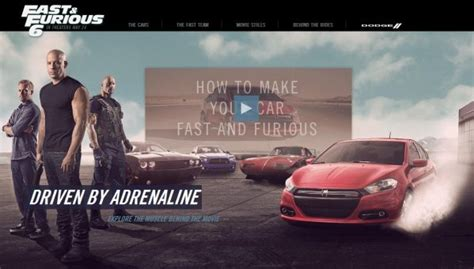 dodge dart featured   fast  furious  based tv
