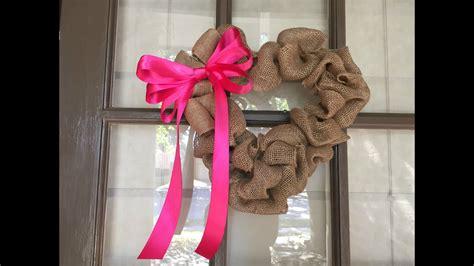 Ru Tub by Diy Burlap S Day Wreath Tutorial