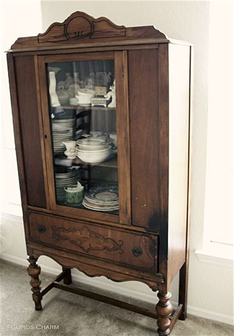 how to antique cabinets vintage china cabinet for the home pinterest