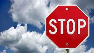 California, Stop, Sign, Violation, Cvc, 22450