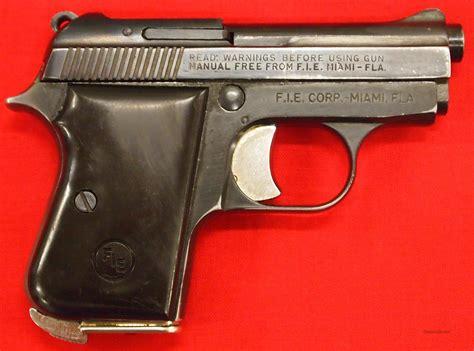 Fie Titan 25 Acp Pistol For Sale