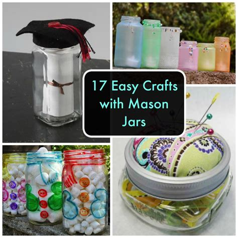 17 Easy Crafts With Mason Jars Favecrafts
