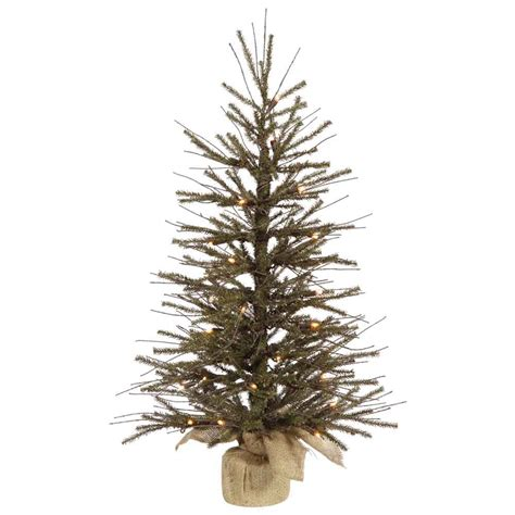 2 foot vienna twig christmas tree mini lights b107625