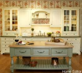 Country Kitchen Island 6 Affordable Ways To Create A Shabby Chic Kitchen