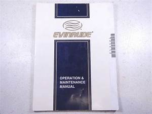 1989 Johnson Evinrude 50 Hp Models Owner U0026 39 S Manual