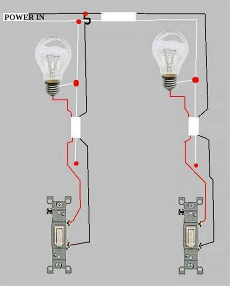 Need Help Wiring Two Lights Switches Doityourself