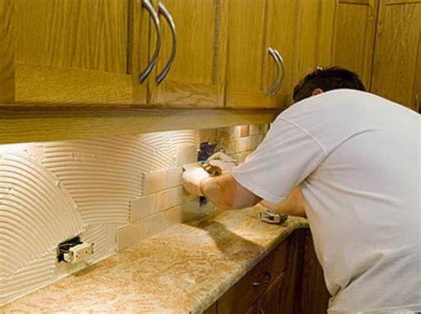 how to install backsplash kitchen kitchen how to install backsplash with the edge how to