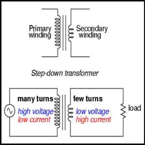 step transformers are used for voltage reduction