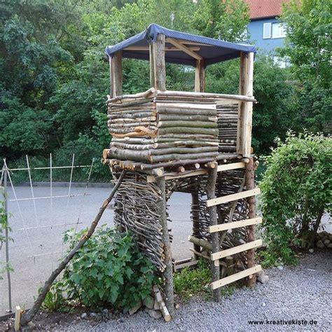 Baumhaus Für Kinder Selber Bauen by Die Besten 25 Stelzenhaus Selber Bauen Ideen Auf